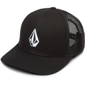 Gorra trucker negra Full Stone Cheese New Black de Volcom