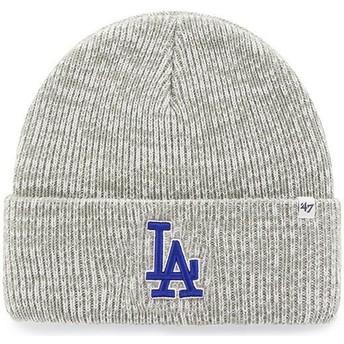 Gorro gris de Los Angeles Dodgers MLB Cuff Knit Brain Freeze de 47 Brand