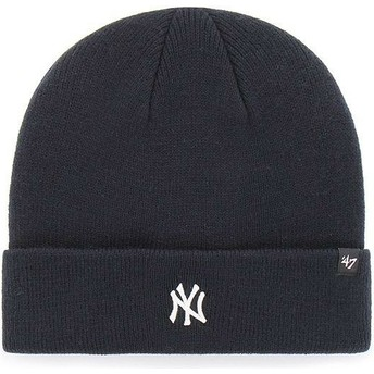Gorro azul marino de New York Yankees MLB Cuff Knit Centerfield de 47 Brand