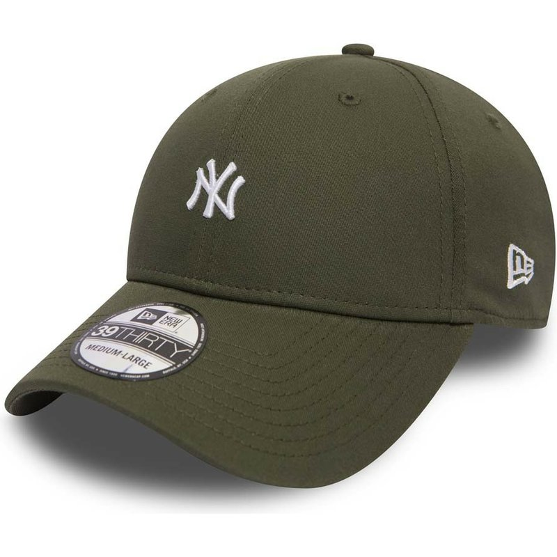 gorra-curva-verde-ajustada-39thirty-mini-logo-de-new-york-yankees-mlb-de-new-era