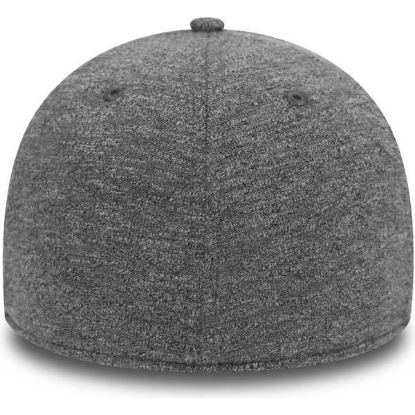 gorra-curva-gris-ajustada-39thirty-slub-de-new-era