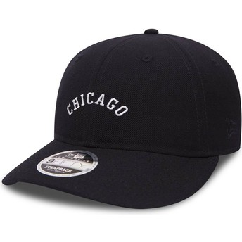 Gorra curva azul marino ajustable 9FIFTY Low Profile City Series de Chicago White Sox MLB de New Era