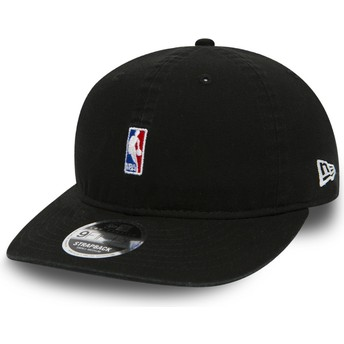 Gorra curva negra ajustable para niño 9FIFTY Low Profile Logo NBA de New Era