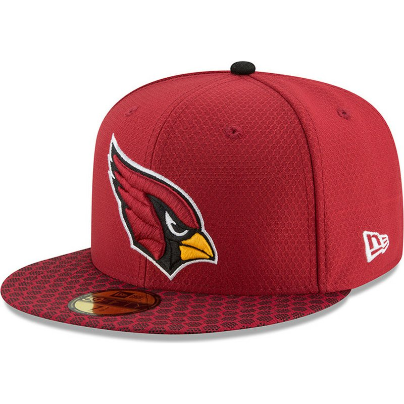 gorra-plana-roja-ajustada-59fifty-sideline-de-arizona-cardinals-nfl-de-new-era