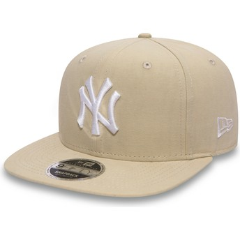 Gorra plana rosa snapback 9FIFTY Lightweight Essential de New York Yankees MLB de New Era