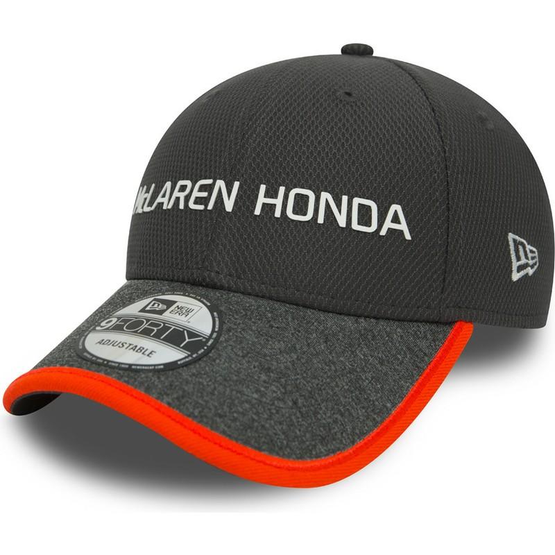 gran ajuste sensación cómoda 2019 real Gorra curva gris ajustable 9FORTY de McLaren Racing Formula 1 de New Era