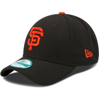 Gorra curva negra ajustable 9FORTY The League de San Francisco Giants MLB de New Era