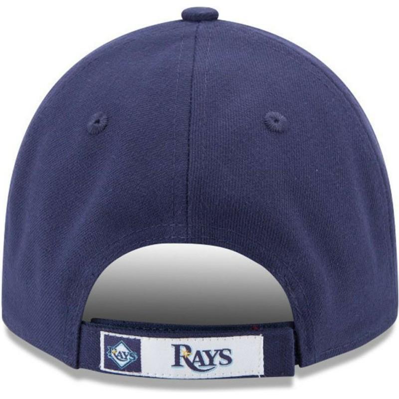 1247e813e5aff Gorra curva azul marino ajustable 9FORTY The League de Tampa Bay ...