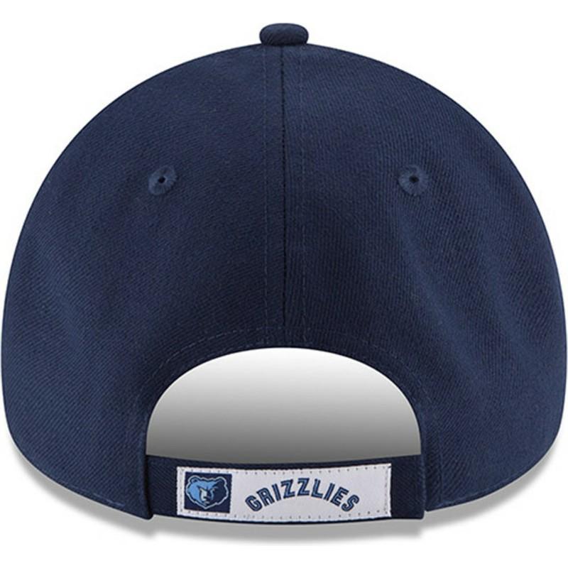 Gorra curva azul ajustable 9FORTY The League de Memphis Grizzlies ... e6ec39b374a