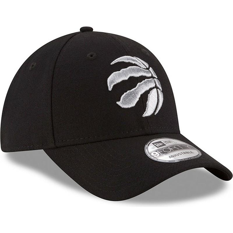 Gorra curva negra ajustable 9FORTY The League de Toronto