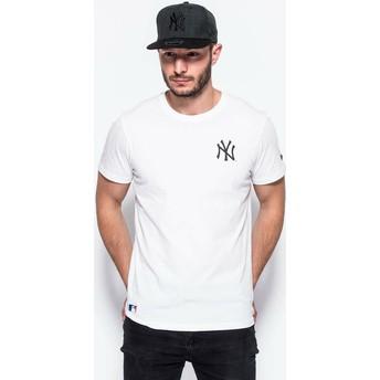 Camiseta manga corta blanca East Coast Graphic de New York Yankees MLB de New Era