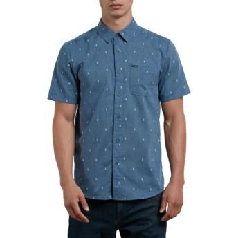 Camisa manga corta azul Gladstone Deep Blue de Volcom