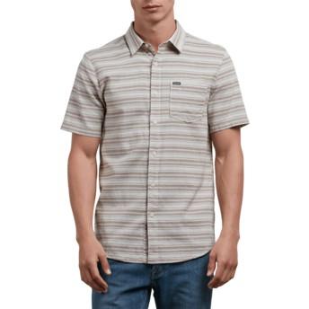 Camisa manga corta gris Sable Clay de Volcom