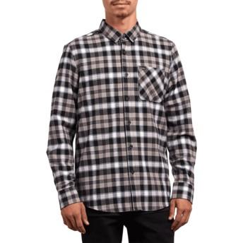 Camisa manga larga negra Lomax Black de Volcom  comprar online en ... dfa0767454f46