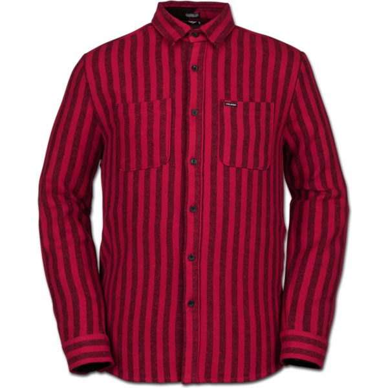 Camisa manga larga roja Shader Engine Red de Volcom  comprar online ... a26f266b388a0