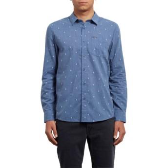Camisa manga larga azul Gladstone Deep Blue de Volcom