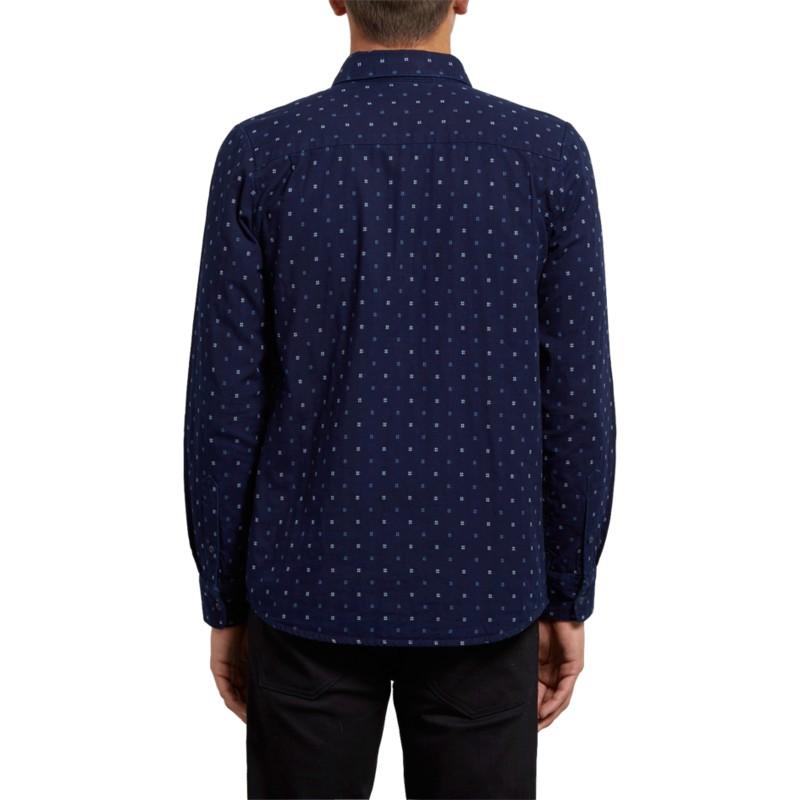 ecb59779eaff6 Camisa manga larga azul marino Earl Indigo de Volcom  comprar online ...