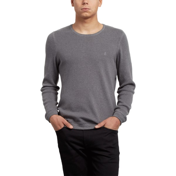 jersey-gris-claro-sundown-heather-grey-de-volcom