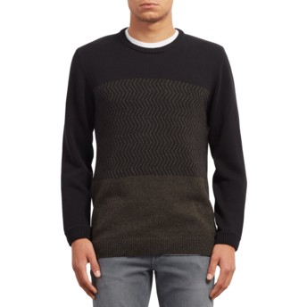 Jersey negro Bario Update Black de Volcom