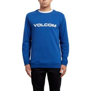 Sudadera sin capucha azul Imprint Camper Blue de Volcom