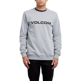 Sudadera sin capucha gris Imprint Grey de Volcom