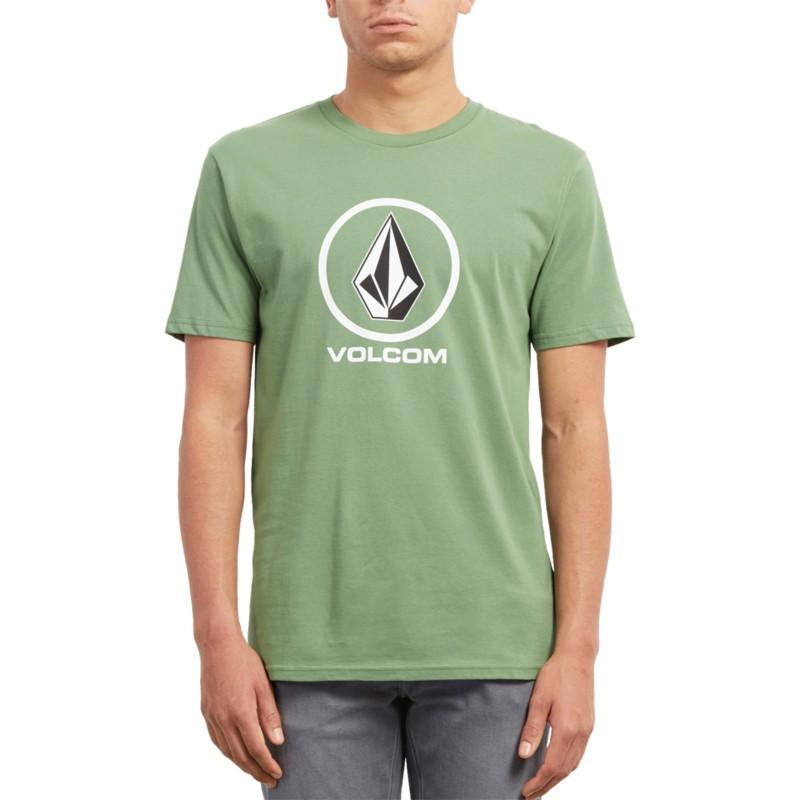 850c5b984c7d3 Camiseta manga corta verde Crisp Stone Dark Kelly de Volcom  comprar ...
