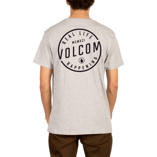 camiseta-manga-corta-gris-on-lock-heather-grey-de-volcom