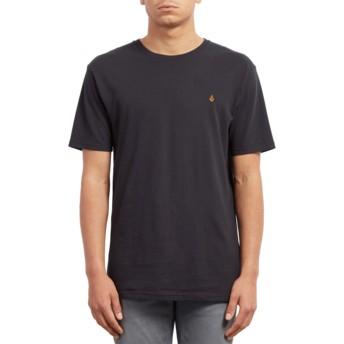 Camiseta manga corta negra Stone Blank Black de Volcom