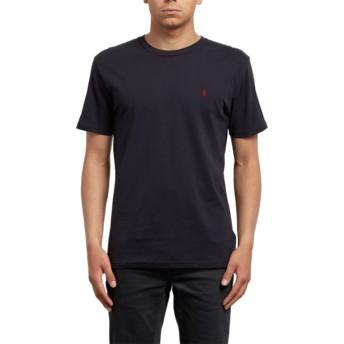Camiseta manga corta negra Stone Blanks Black de Volcom