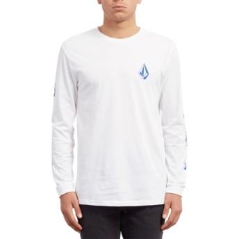 Camiseta manga larga blanca Deadly Stone White de Volcom