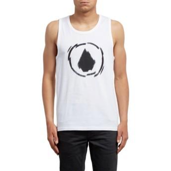Camiseta sin mangas blanca Shatter White de Volcom