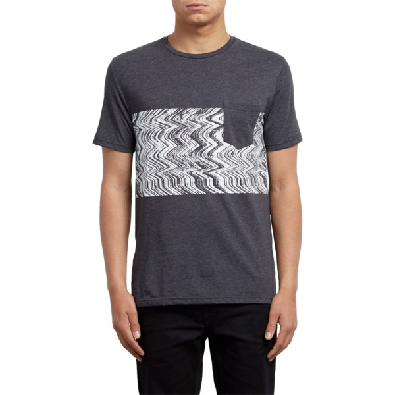 7d6d8ac51b Camiseta manga corta negra Lofi Heather Black de Volcom  comprar ...