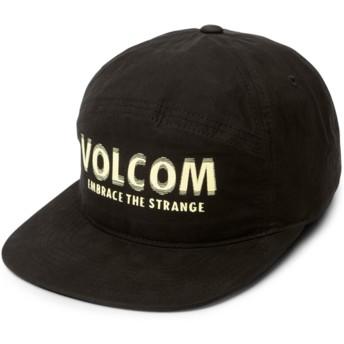 Gorra plana negra ajustable Volstranger Black de Volcom