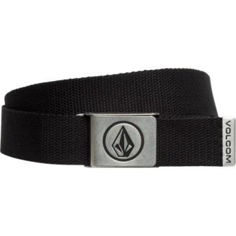Cinturón negro Circle Web Stoney Black de Volcom  comprar online en ... afab3863c430
