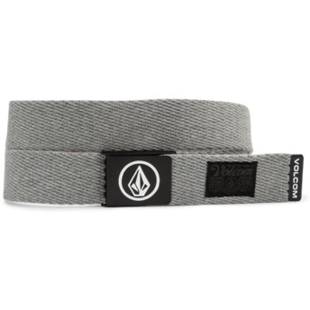 Cinturón gris Circle Web Heather Grey de Volcom