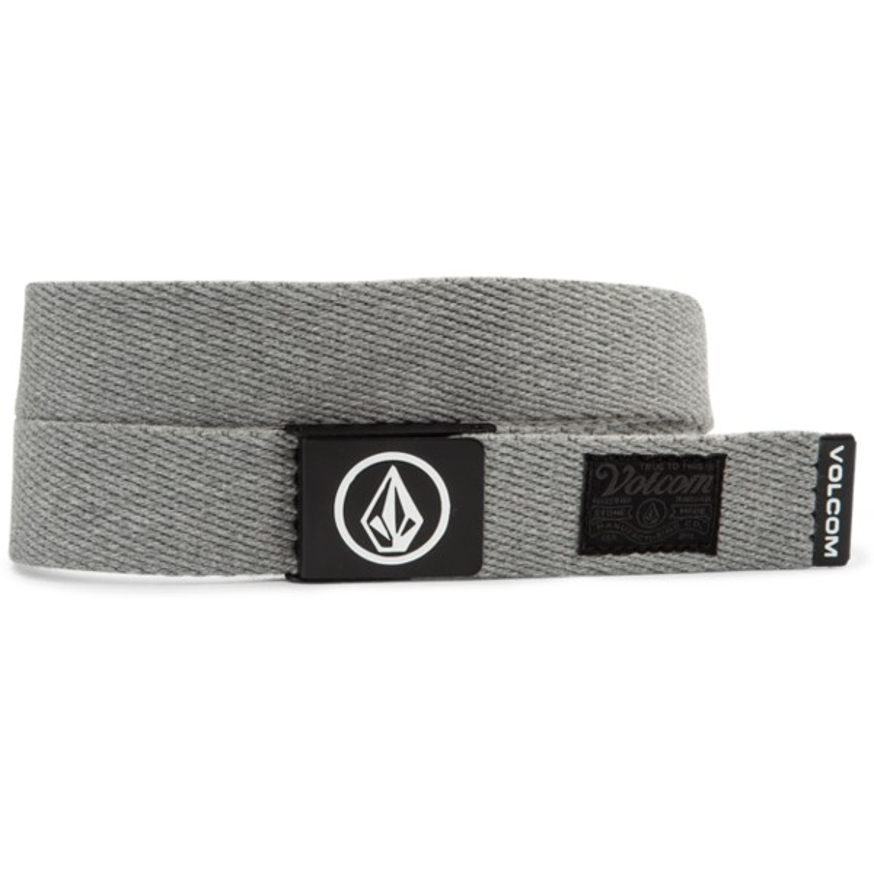 Cinturón gris Circle Web Heather Grey de Volcom  comprar online en ... e09af51e5784