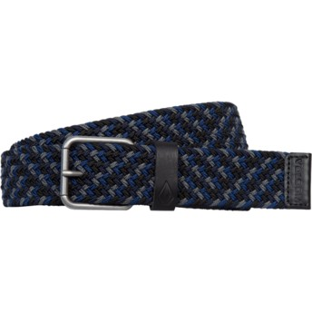 Cinturón azul marino Krupa Web Navy de Volcom