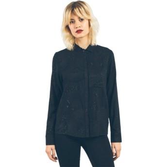 Camisa manga larga negra Space Trip Black de Volcom
