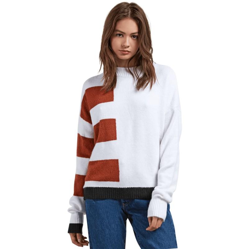Jersey blanco Cold Band White de Volcom  comprar online en Caphunters b847c64c6893