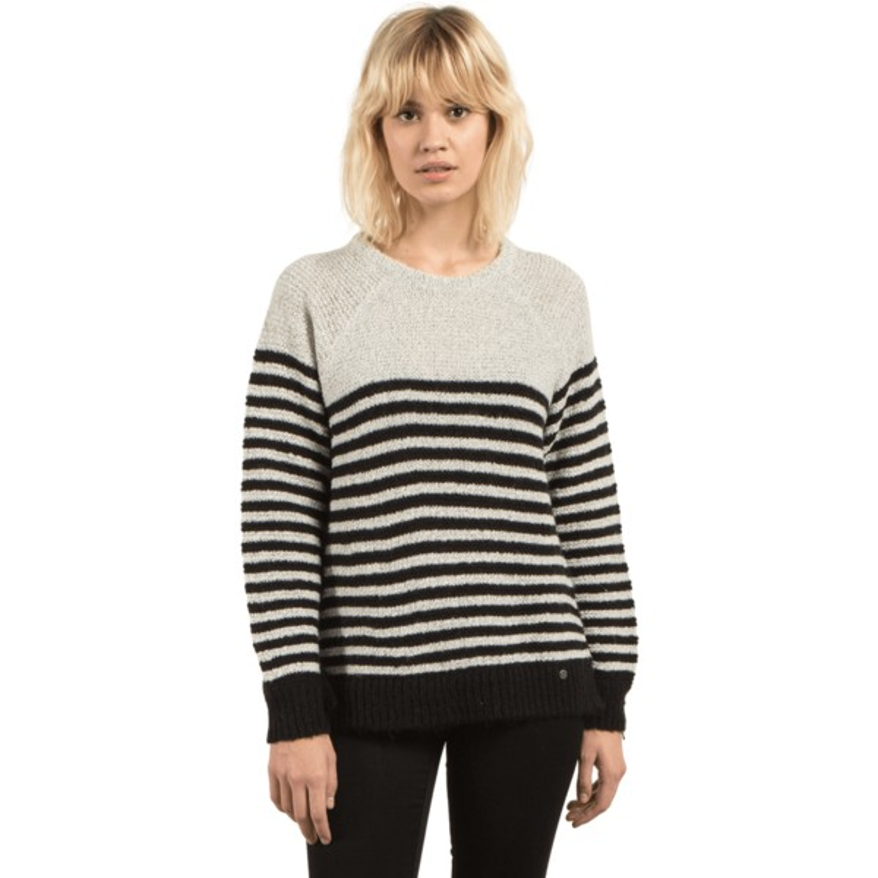 Jersey blanco y negro Cold Daze Star White de Volcom  comprar online ... 5ab8373422e7