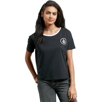 Camiseta manga corta negra Simply Stoned Black de Volcom