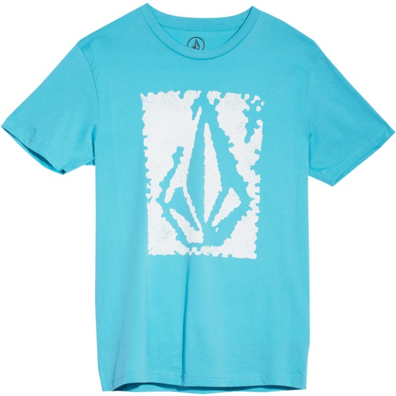b34d136210d Camiseta manga corta negra para niño Pixel Stone Blue Bird de Volcom ...