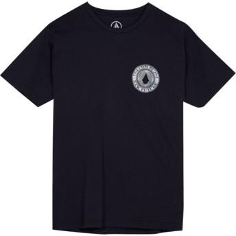 Camiseta manga corta negra para niño Volcomsphere Black de Volcom