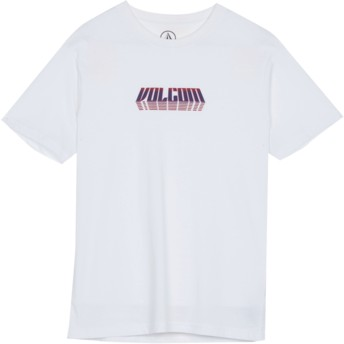 Camiseta manga corta blanca para niño Black Hole White de Volcom