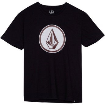 Camiseta manga corta negra para niño Classic Stone Black de Volcom