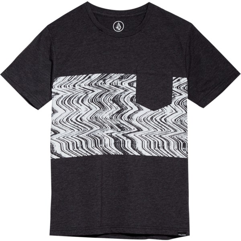 d08b0a5ee3 Camiseta manga corta negra para niño Lofi Heather Black de Volcom ...
