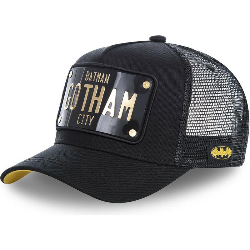 Gorra trucker negra con placa Batman Gotham City BATP1 DC Comics de ... 40d156d0002