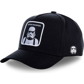 Gorra curva negra snapback Stormtrooper BB Star Wars de Capslab abaa67db8f6