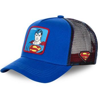 Gorra trucker azul Superman clásico DC2 SUP DC Comics de Capslab