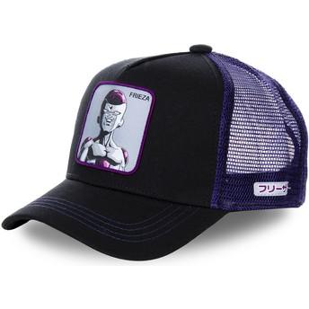 Gorra trucker negra y violeta Frieza FREB Dragon Ball de Capslab